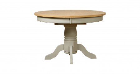 Mark Webster Round Bordeaux Extending Dining Table