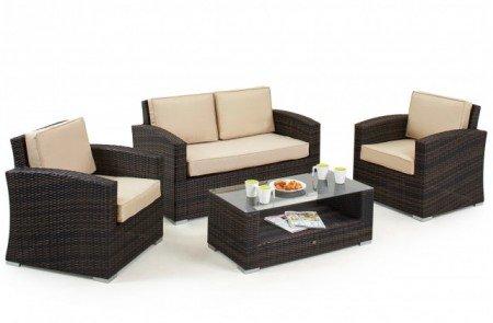 Maze Rattan Kingston 2 Seat Sofa Set