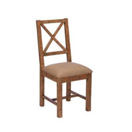 Baker Nixon X Back Upholstered Dining Chair