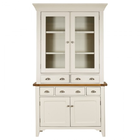 Mark Webster Padstow Small Sideboard With Glazed Hutch