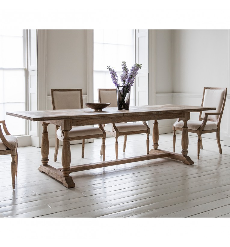 Gallery mustique extending dining table for Dining room tables northern ireland