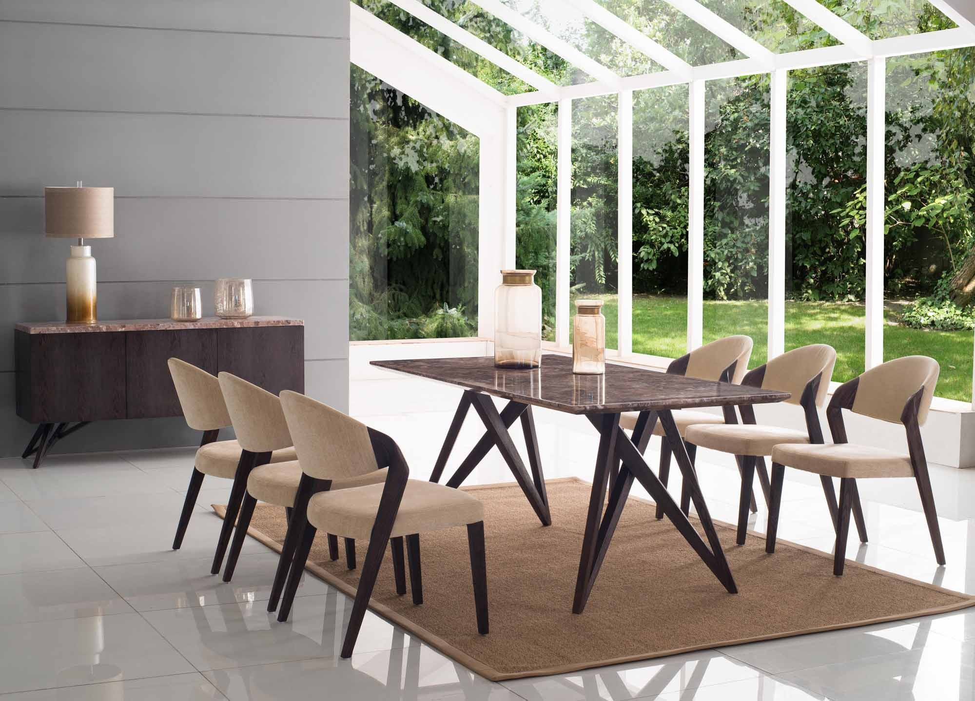 Alfrank designs geo dining chair for Dining room tables belfast