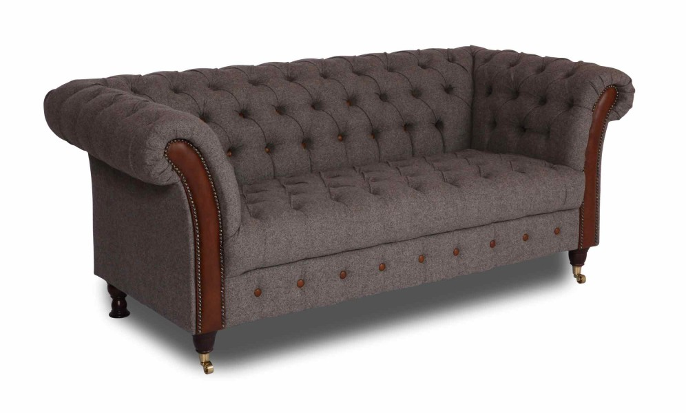 Vintage sofa company chester club 2 seater sofa - Sofas baratos ikea ...
