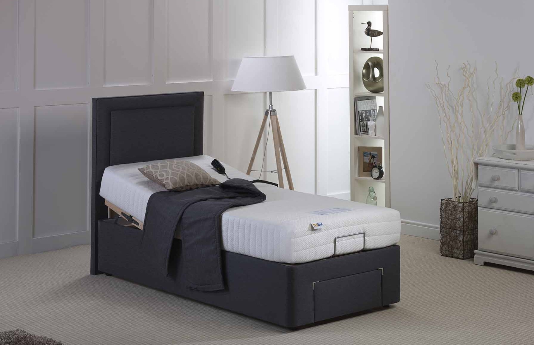 Adjustable Beds In Belfast : Mibed verity electric adjustable bed