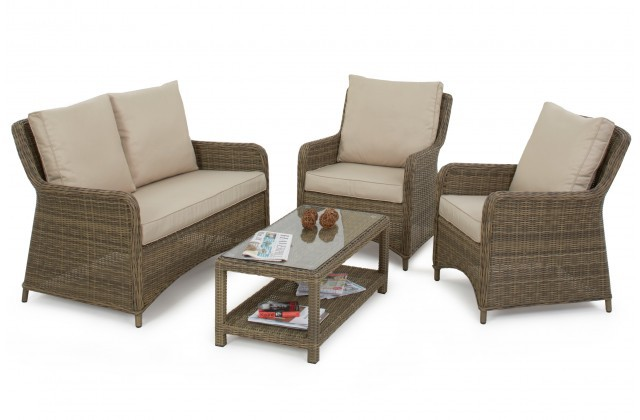 Marvelous Maze Rattan Winchester Square High Back Sofa Set Caraccident5 Cool Chair Designs And Ideas Caraccident5Info