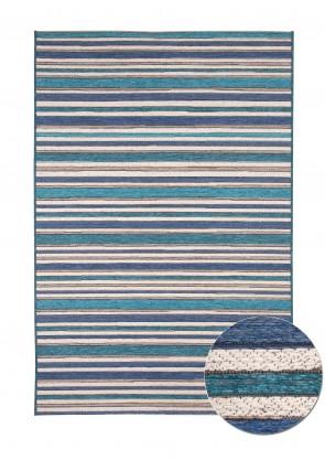Brighton Rug Blue Stripe