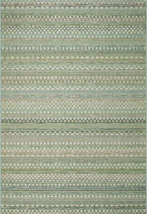 Brighton Rug Pale Greens
