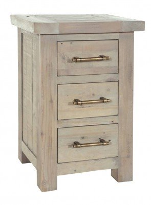 Rowico Driftwood Chest of 3 Drawers