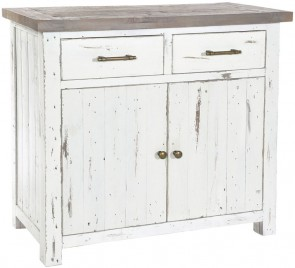 Rowico Driftwood Two Tone Small Sideboard