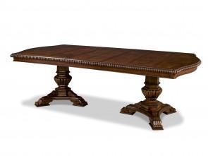 Universal Furniture Villa Cortina Double Pedestal Dining Table