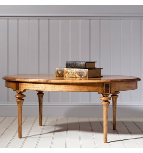 Gallery Spire Oval Coffee Table