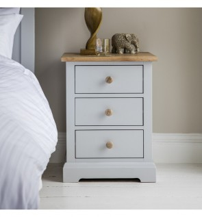 Gallery Marlow Nightstand 3 Drawer Cabinet