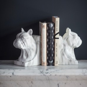 Gallery Winston Pair of Faux Marble Bookends
