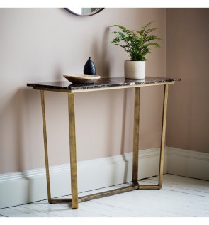 Gallery Emperor Console Table Marble
