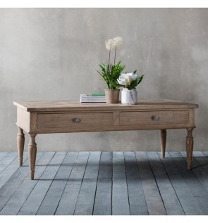 Gallery Mustique 2 Drawer Coffee Table