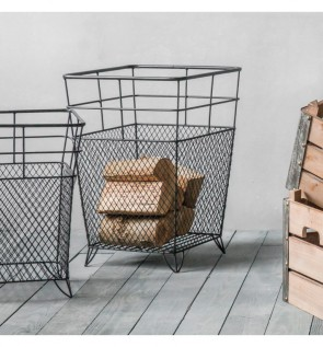 Gallery Lunde Metal Storage Basket