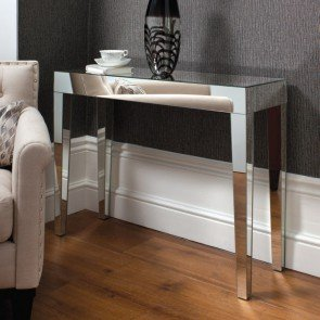 Gallery Geo Mirrored Console Table