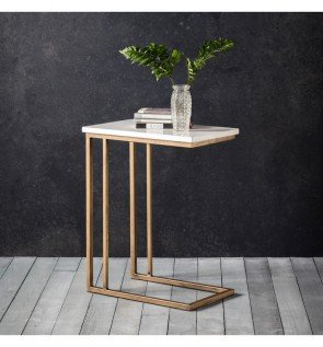 Gallery Cleo Supper Table Marble
