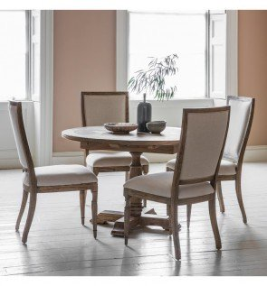 Gallery Mustique Round Extending Dining Table