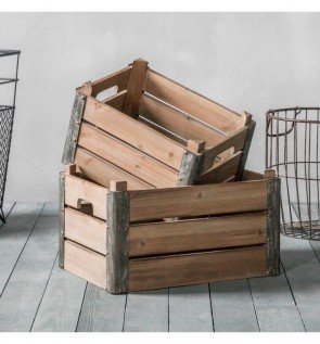Gallery Fischer Crates Set of 2