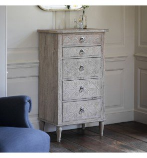 Gallery Mustique 5 Drawer Lingerie Chest