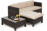 Maze Rattan LA Corner Sofa Set