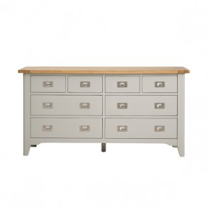 Markw Webster 8 Drawer Wide Chest of Drawers