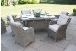 Maze Rattan Winchester 6 Seat Rectangle Dining Set