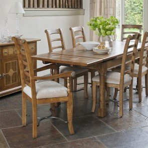 Baker Flagstone Lamp Table Dining Set