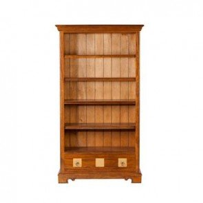 Baker Flagstone Tall Bookcase With Drawer