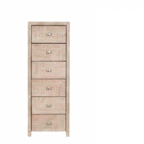 Baker Geo 6 Drawer Tall Chest