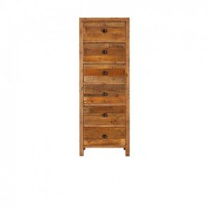 Baker Nixon 6 Drawer Tall Chest of Drawers