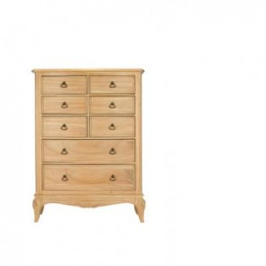 Baker Limoges 8 Drawer Tall Wide Chest