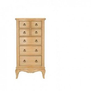 Baker Limoges 7 Drawer Tall Narrow Chest