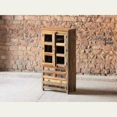 Little Tree Mary Rose 6 Drawer 2 Doors Dresser