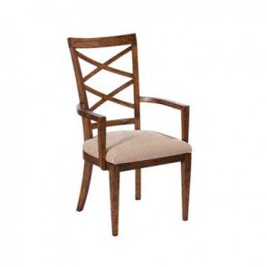 Baker Mango Creek Beidermeier Carver Dining Chair