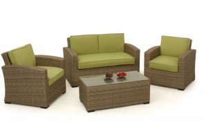 Maze Rattan Milan Kingston 2 Seat Sofa Set