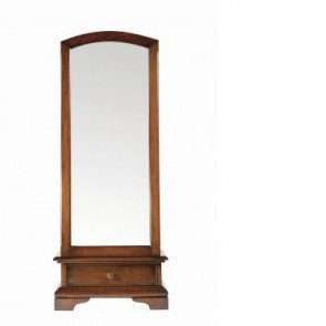 Baker Normandie Cheval Mirror