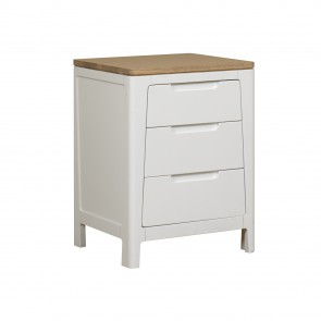 Mark Webster Painted Geo Bedside Table