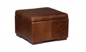 Vintage Sofa Company Classic Square Storage Footstool
