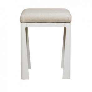 Mark Webster Painted Geo Dressing Table Stool