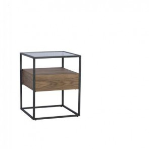 Baker Panama Lamp Table