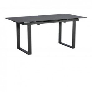 Baker Panama Dark Grey Extending Dining Table