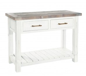 Rowico Driftwood Two Tone Console Table