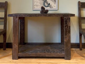 Little Tree Reclaimed Sleeper Wood Console Table