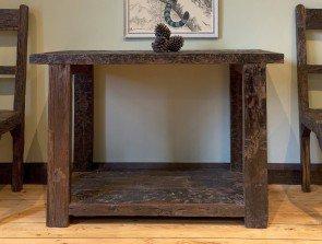 Little Tree Reclaimed Sleeper Wood Console Table