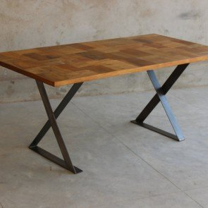 Little Tree Hickory Upcycled Dining Table