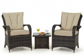 Maze Rattan Texas 3 Piece Lounge Set