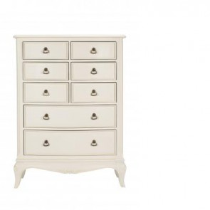 Baker Toulouse Tall 8 Drawer Chest of Drawers