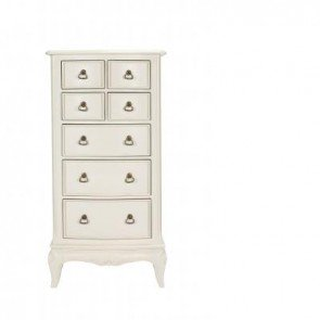 Baker Toulouse Narrow 7 Drawer Chest of Drawers